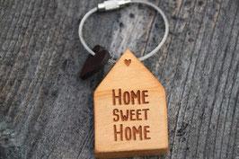 """Schlüsselanhänger """"HOME SWEET HOME"""""""