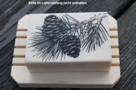 Seifenschale Zirbenholz