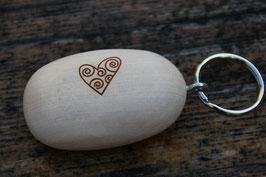 Schlüsselanhänger Handschmeichler Herz