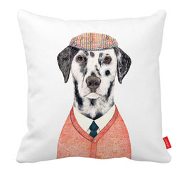 "Dalmatian cushion cover ""Golf"" / Dalmatiër kussenhoes ""Golf"""