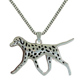 Dalmatian necklace / Dalmatiër ketting