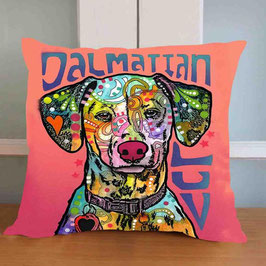 "Dalmatian cushion cover ""Art"" / Dalmatier kussenhoes ""Art"""