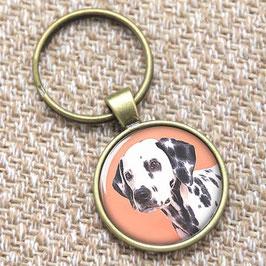 Dalmatian key chain / Dalmatiër sleutelhanger