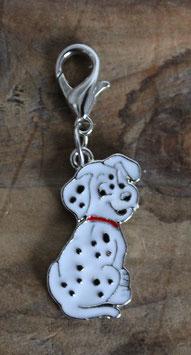 Dalmatian dog charm  / Dalmatiër hangertje