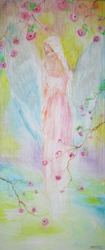 Engel der Erinnerung  (70 x 30 ) Pastell  (Leinwanddruck) FREUDE-ANGEBOT