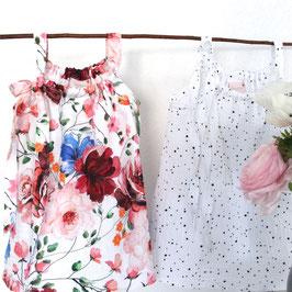 Kleidchen aus Musselin Kurz