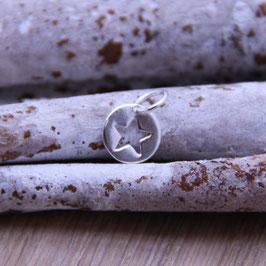 Silberanhänger Stern