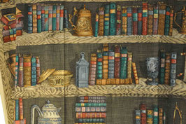 Libreria tessuto Fornasetti
