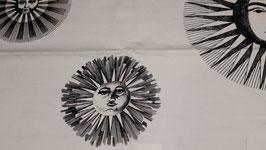 Sole e Luna tessuto Fornasetti