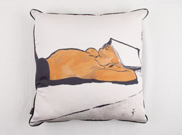 Cuscino L'Homme Mysterieux Cushions - DORÉ - 04