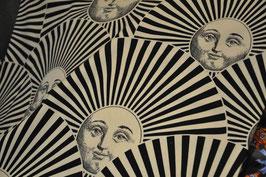 Sole e Ventaglio tessuto Fornasetti