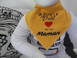 """Anti-bavouille """"Je suis le petit coeur de ma maman"""""""