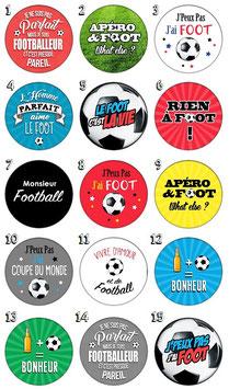 """Porte-clefs """"Footballeur"""""""