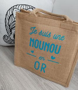 "Cabas ""Nounou en Or"""