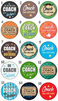 """Porte-clefs """"Coach qui déchire"""""""