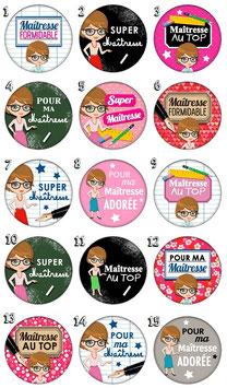 """Badge """"Maîtresse I"""""""