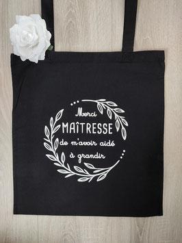 "Tote bag ""merci maîtresse"""