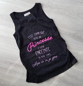 "Tee-shirt ""Princesse enceinte"""