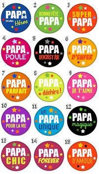 "Pince à cravate ""Papa III"""