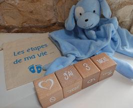 """Cubes """"Etapes de ma vie"""""""
