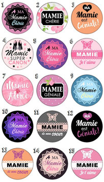 "Marque-pages pince ""Mamie II"""