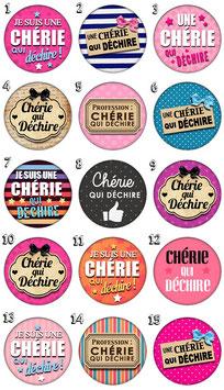 """Accroche-sac """"Chérie I"""""""