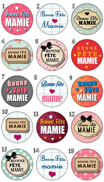 """Magnet """"Bonne fête mamie"""""""