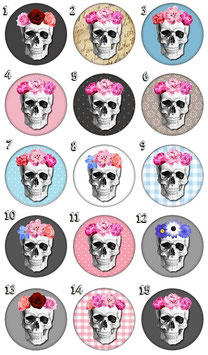 "Porte-clefs ""Skull"""
