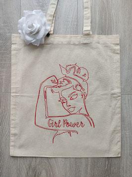 "Tote bag ""Pin up"""