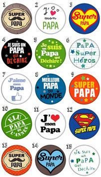 "Pince à cravate ""Papa I"""