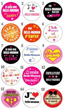 """Porte-clefs """"Belle maman"""""""