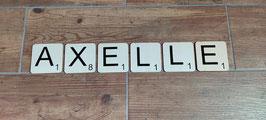 """Lettres """"Scrabble"""""""