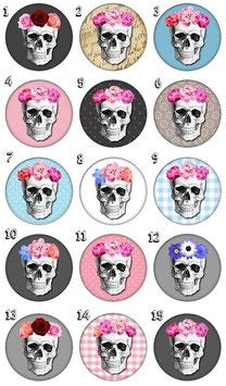 """Porte-clefs décapsuleur """"Skull"""""""