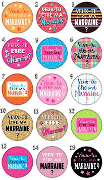"Broche ""Marraine IV"""
