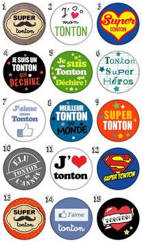 "Porte-clefs ""Tonton"""