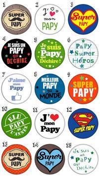 """Porte-clefs """"Papy"""""""