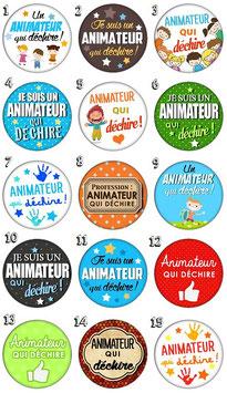 """Porte-clefs """"Animateur"""""""