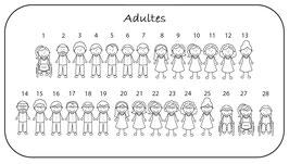 """Personnages """"Adultes"""" avec prénom"""