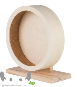 Houten loopwiel met kurk Ø 21 cm