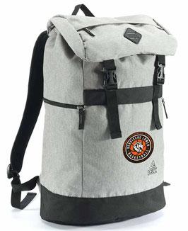PEAK Backpack Grey mit Logo