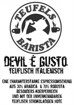 Devil e Gusto Espresso 250g