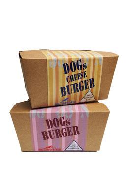 DogsBurger- & CheeseBurger-Boxen je 140 g