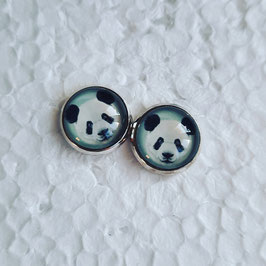 12 mm Metall Panda türkis