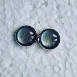 12 mm Metall silber