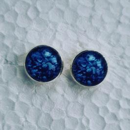 12 mm Metall Koralle blau