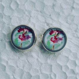 12 mm Metall Ballerina Aquarell