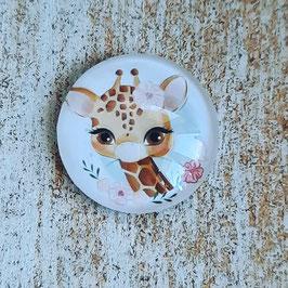 Giraffe Gesicht gemalt