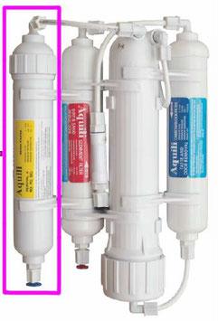 Aquili RO Classic Umkehrosmose mit NO3 PO4 SiO2 Filter und Spülventil – 190 l/t