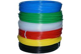 PVC Schlauch, 4/6 mm, rot, für Osmoseanlagen