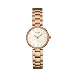 Orologio Solo Tempo Donna Bulova Diamonds 97S111
